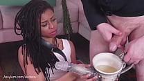 Endless ass to mouth and a piss enema in demented wonderland for Kira Noir
