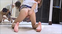 Lady Opens Her Legs And Gets Off On This Hot Se... Thumbnail