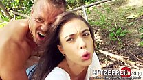 ◇ PUBLIC SEX SESSION! Young ◇ Anastasia Brokelyn ◇ Fucked in the Middle of a Park by Her Date! ◇ HITZEFREI.dating preview image