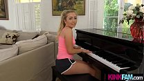 Piano is not right for my hot stepsister but my... Thumbnail