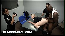 BLACK PATROL - MILF Cops Bust An Illegal Happy ... thumb