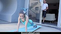 ExxxtraSmall - Petite Baby Stretched our and Fucked During Yog thumbnail