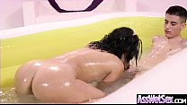 Big Butt Girl (Kristina Rose) Get Oiled All Over And Hard Anal Nailed clip-21