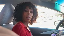 hot and horny ride from big ass afro hair cutie Misty Stone