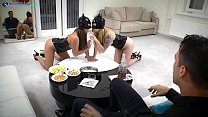 Kinky cats Misha Cross and Amirah Adara wild se... Thumbnail