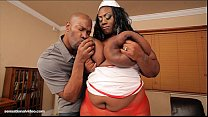 Busty Black BBW Mz Diva Nurses A Huge Cock pornhub video