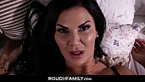 Psycho Son Disturbing his Tired Mom - RoughFamily.com