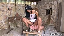 Extrem Hot Swiss Teen Femdom Guy And Seduce Him To Get Anal