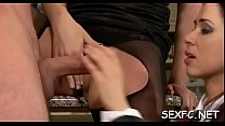xxx desi anty - clothed and lewd hotties getting a huge cock treatment thumbnail
