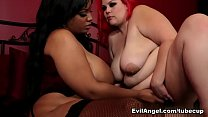 April Flores Betty Blac In Marshmallow Girls Bbw Idol April Flores Scene