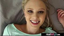 Horny Naughty GF (lily rader) Perform Sex In Front Of Camera clip-14