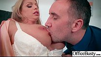 (Brooklyn Chase) Busty Sexy Office Girl Busy In Hard  Sex Act video-09