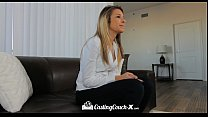 HD CastingCouch-X - Teen Carmen Caliente fucked on the table at audition