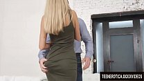 Amorous Babe Katrin Tequila and Her Boss Engage in Anal Sex