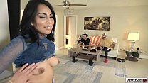 Latina Monica tasting her friends pussy thumbnail