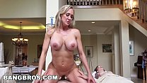 Juan Gets Happy Ending from MILF Brandi Love (bbc16024) - porn elefant thumbnail