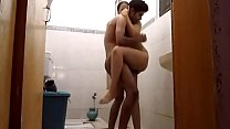 GotPorn-handsome-indian-babe-fucks-with-her-man-in-the-bathroom