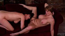 Darla Crane and Odile Licking Each Other thumbnail