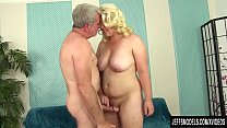 Fat Blonde Miranda Kelly Sucks a Thick Dick and Gets Her Pussy Pounded ภาพขนาดย่อ