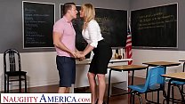 Naughty America - Dana DeArmond teaches her student to EAT ASS