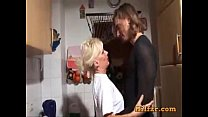 Blonde german mom and son fucked