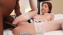 BBCPIE White Maid Stuffed With Multiple Interra