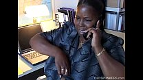 Mature black BBW loves to talk dirty to you on the phone porn thumbnail