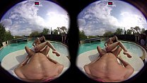 VirtualPornDesire - Gina By The Pool 180 VR 60 FPS
