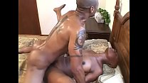 Black hunk with a thick cock gets a good blowjo...