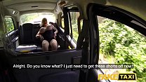 10032 Fake Taxi Busty dirty talking blonde squirting Milf fucked in cab preview