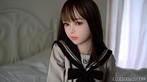 Anime curvy booty cute girl - Piper 150 Akira sex doll
