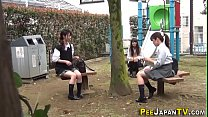 Pissing fetish asian teenagers watched