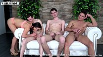 Three hugry newcomers try fuck Wendy Moon but two of them fail Preview