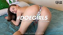 DOEGIRLS - Russian Babe Stella Flex Gets Some Anal Love While Her Guy Records Everything