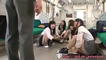 Asian Schoolgirls Public Train - Watch Part2 On Bit.do/asiantube