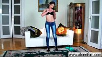 Solo Horny Girl Pleasing Herself On Cam movie-02