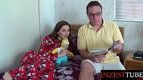 Inzesttube.com - Daddy Reads Daughter a Bedtime Story... thumbnail