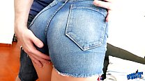 Incredible Big Round Ass and Puffy Cameltoe Pus... thumb