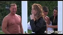 Babes take up with the tongue every other and also get fucked by a dude - Download mp4 XXX porn videos
