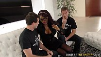 Ebony Jasmine Webb Fucks White Guys preview image