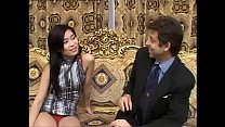 A young sensual asian girl is about to meet a huge black cock! [목구멍 깊숙히 Deepthroat]