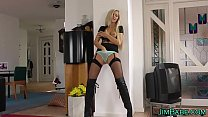 Stockings amateur spunked Preview