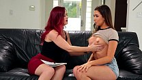Karlie Montana and Melissa Moore Epic Lesbian Porn