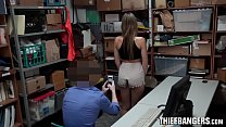 Busty Blonde Teen Babe Blair Williams Banged By LP Officer For Stealing