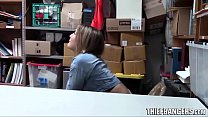 Busty Blonde Teen Babe Blair Williams Banged By LP Officer For Stealing - 9Club.Top