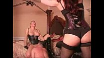 Whipped while licking mistress pussy - liseli porno thumbnail