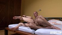 [tube style gonzo] Horny german couple fuck in threesome thumbnail