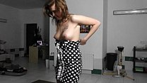 Amazing lapdance by funny czech hottie preview image