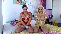 DOUBLE-DIPPING WITH ABELLA DANGER AND LUNA STAR - 9Club.Top