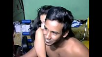 Newly married south indian couple with ultra hot babe WebCam Show (2) - Pornhub.com preview image